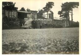 ROUGON 04  LE PONT SUBLIME CAFE RESTAURANT PHOTO DE 1958 AVEC RENAULT 4CV FORMAT  11.50 X 8 CM - Lugares