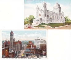 Etats Unis - Minnesota -  Minneapolie  - 2 Cartes   : Achat Immédiat - Minneapolis
