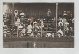 Carte Postale Photographique Rare Hippodrome Tribunes - Royan