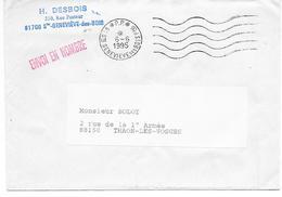 91 - SAINTE GENEVIEVE DES BOIS Ppal - P P  DU 06/06/1995 - Marcophilie (Lettres)