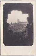 Alte Ansichtskarte Aus Illies -zerstörte Kirche Durch Ein Grantenloch Gesehen- - France