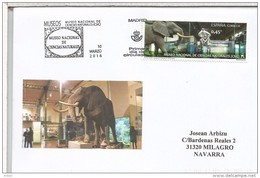 CC CON MAT PRIMER DIA MADRID MUSEO DE CIENCIAS NATURALES ELEFANTE ELEPHANT MUSEUM