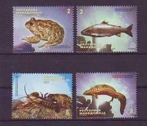 Macedonia 2009 Y Fauna Animals Mi No 517-20 MNH