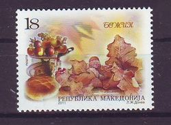 Macedonia 2011 Y Religion Christmas Mi No 618 MNH