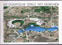PIA - GERMANIA - 1972 : Giochi Olimpici Di Monaco  - (Yv  Bf 7)