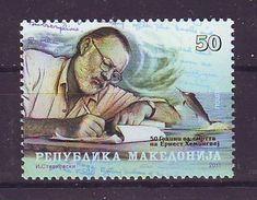 Macedonia 2011 Y Personalities Ernest Hemingway Mi No 605 MNH