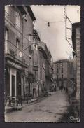 CPSM 34 - SERVIAN - Grand'rue - SUPERBE PLAN CENTRE VILLAGE ANIMATION MAGASINS Tabacs Café Le France - Autres Communes