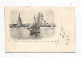 Cp , 17 , LA ROCHELLE , Bateau De Pêche , Dos Simple , Voyagée - Pêche