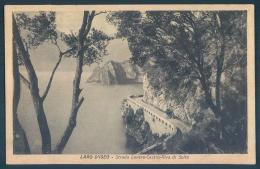 Lombardia Bergamo LAGO D'ISEO Strada Lovere-Castro-Rivadi Solto - Bergamo