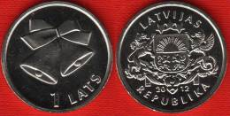 "Latvia 1 Lats 2012 ""Christmas Bells"" UNC - Latvia"