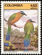 Colombie. Colombia. 1985   Whooping Motmot    Momotus Subrufescens