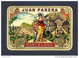 Etiquette De Liqueur JUAN PARERA. Lithographique (13 X 8´5 Cms) (Ref.61181) - Labels