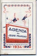 MILITARIA - Agenda Du Jeune Français - Ministere De La Guerre - Recrutement  Des Militaires De Carriere -1934 - 8 Scans - Altri