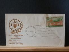 66/540   FDC PAKISTAN - Tegen De Honger