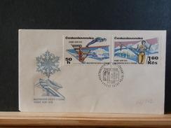 66/542  FDC CESKOSL. - Briefe