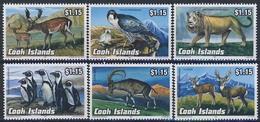 MDA-BK1-389 MDB MINT ¤ COOK ISLANDS 1992 6w In Serie ¤ BUTTERFLY - ANIMALS - MAMMALS - ANIMALS OF THE WORLD