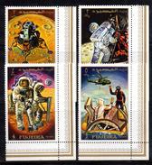 R172 - FUJEIRA 1970 , Emissione Per  L'Apollo 12  *** - Fujeira