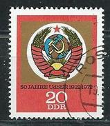 DDR  1972  Mi 1813  50 Jahre UdSSR  Gestempelt