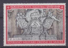 Ordine Di Malta 1970 Christmas 1v ** Mnh (34859) - Malta (Orde Van)