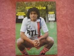 Equipe Magazine N°156 11/06/1983 Noah Tennis - Foot Vautrot - Thompson Vigneron Perche - Tennis
