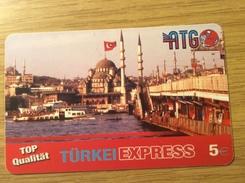 Rare Prepaid Card - 5€ Türkei Express ATG -    - Fine Used - See Pictures - Deutschland