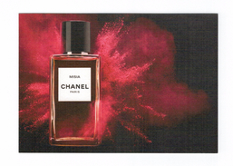 Cartes Parfumées  Carte CHANEL   MISIA    De CHANEL RECTO VERSO - Modern (from 1961)