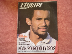 Equipe Magazine N°242 18/05/1985 Tennis Noah Lendl - F1 Arnoux - Tennis