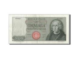 Billet, Italie, 5000 Lire, 1964, 1964-09-03, KM:98a, TTB+ - 5000 Lire