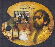 N31 Niger - MNH - Art - Painting - Edgar Degas - 2014
