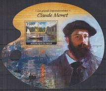 N31 Niger - MNH - Art - Painting - Claude Monet - 2014