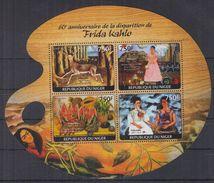 N31 Niger - MNH - Art - Painting - Frida Kahlo - 2014
