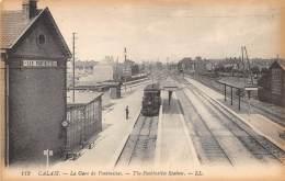 62 - PAS DE CALAIS - Calais - La Gare Des Fontinettes - Train - Calais