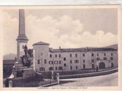 Possano  - La Casa Del Canova Col Monumento Ai Caduti Viaggiata  1942   D607 - Italy