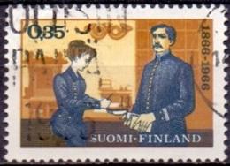 Finland 1966 Nordia 1966 GB-USED