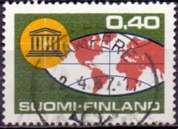 Finland 1966 Unesco GB-USED