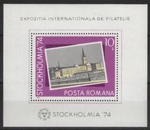 RO 332 - ROUMANIE BF 115 Neuf** Stockolmia Exposition Philatélique Internationale - Hojas Bloque