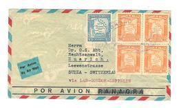 BOLIVIE Lettre Por Avion Via LAB-CONDOR-ZEPPELIN Vers La Suisse - Bolivia