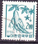 Korea Süd/south/sud - Ginsengwurzel (Panax Schin-seng) (MiNr: 539) 1966 - Gest Used Obl - Corée Du Sud