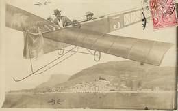 Pays Div- Ref H259- Monaco - Montage Photo Carte Photo Decor Photographe Avion -monte Carlo -/ Voir Etat Description - - Sin Clasificación