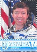 Ukraine 2017, Space, USA Astronaut, 1v - Ukraine