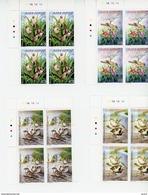 Cap Vert-Cabo Verde-2005-Oiseaux-844/7**MNH   BLOC DE 4