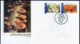 Christmas Island 2001 Fungi FDC