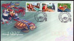 Christmas Island 1997 Christmas FDC