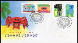 Christmas Island 1999 Favourite Festivals FDC