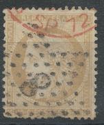 Lot N°34937   N°59, Oblit étoile Chiffrée 8 De PARIS (R. D'Antin) Et Cachet étranger ROUGE
