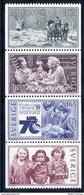 SWEDEN 1982 Immigration MNH / **.  Michel 1201-04 - Unused Stamps