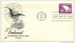 USA  -  Intero Postale  -  Stationery   -  Air Mail  5c.