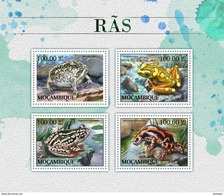 MOZAMBIQUE 2016 - Frogs. Official Issue