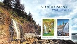Norfolk Island 2017 Waterfalls Minisheet MNH