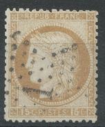 Lot N°34943   Variété/n°55, Oblit étoile Chiffrée 1 De PARIS (Pl De La Bourse), Filet OUEST